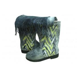 grey-felt-boots (unisex)