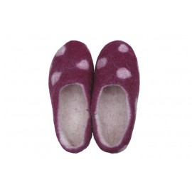 puple-dots-slippers