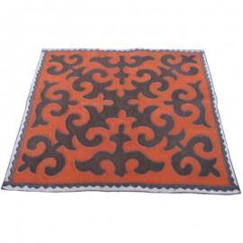 orange-square-carpet