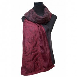 burgundi-scarf